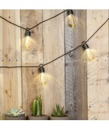 Paradise by Sterno Home Indoor and Outdoor 10 Light LED String (10' Black) - $14.85