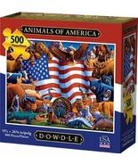Dowdle Jigsaw Puzzle - Animals of America - 500 Piece - $24.81