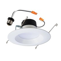 10.8W Indoor Recessed Retrofit Downlight Soft White Dimmable Utilitech LED 65W