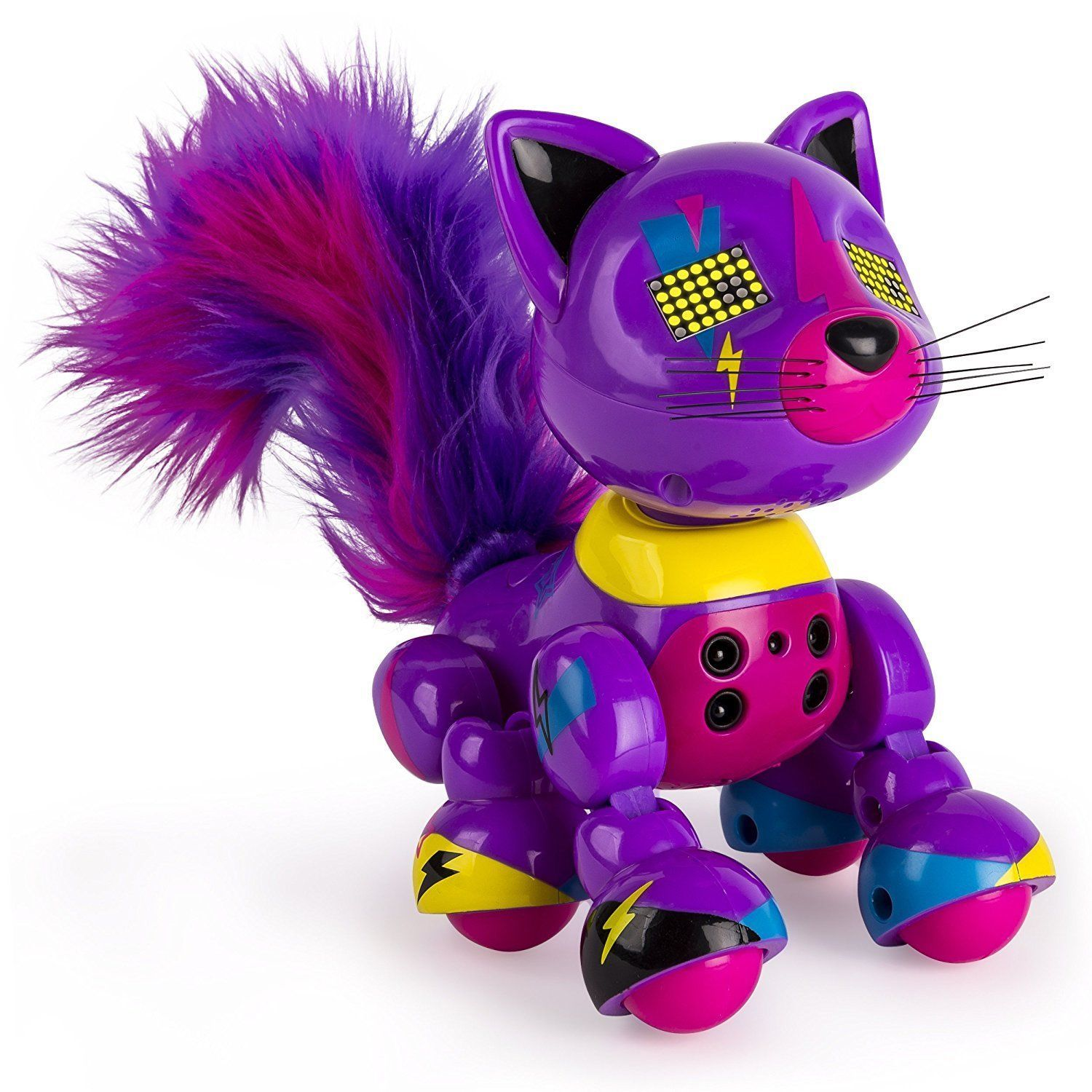 Zoomer Meowzies Interactive Kitten  Lucky new in box