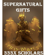 333X 7 SCHOLARS HARNESS SUPERNATURAL GIFTS RAE AND EXTREME MASTER MAGICK  - $377.77