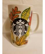 Starbucks 2016 Autumn Fall Leaves Tall Mug, 16 oz. Mermaid Coffee Cup - $24.74