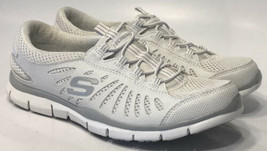 Skechers 22123 Slip On Sneaker White Casual Shoes Womens Size 7 UK 4 EUR... - $19.59