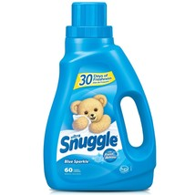 Snuggle Blue Sparkle With Fresh Release Liquid Fabric Softener, 50 Oz - $12.97