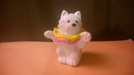 Fisher Price Little People Circus Performing Dog for Carnival Clown Puppy  - $4.75