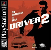Driver 2 - PlayStation [PlayStation] Greatest Hits 1-2 Players Teen ESRB - $20.85