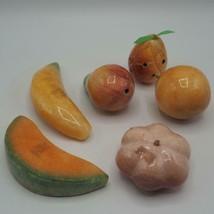Vintage Set di Marmo Vetro Frutta - $152.11