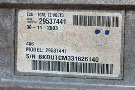Chevy Silverado GMC 2500HD Allison Transmission Control Module TCM TCU 15169833 image 5