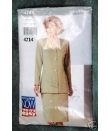See & Sew by Butterick Misses' Jacket & Skirt Pattern - $2.00