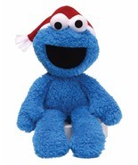 Gund Plush Sesame Street Cookie Monster Take Along Buddy Christmas Hat 1... - £14.19 GBP