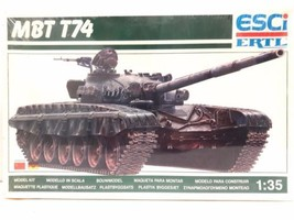 ESCI/ERTL 1/35 Scale MBT T74 Model Tank Kit 5024 - $29.99
