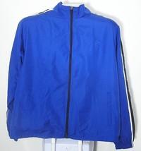 Men's Starter Windbreaker Jacket Size Mesh Lining XL Blue White - $14.99
