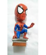 SPIDERMAN 2001 Kneeling Bobblehead Head Knocker Marvel Comics BD&A 8 inch - $22.72
