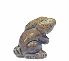 Wade Figurine England whimsies whimsy Red Rose brown easter rabbit bunny... - $13.50