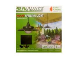 SunForce Solar Hanging Light w/ Remote Outdoor Light Patio Light Pergola... - $32.71