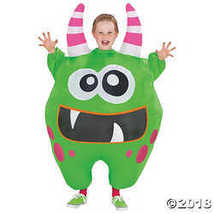Boy's Inflatable Green Scareblown Costume - $52.48