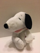 Laughing Peanuts Snoopy Plush Dog HAHA Charlie Brown Stuffed Animal Soft... - $9.49