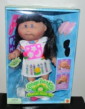 VTG 1996 Cabbage Patch Kids Paintin' Faces 'Kid Black Hair Cici Carly - $74.25