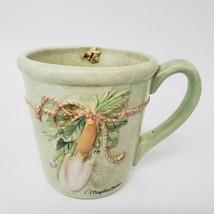 Marjolein Bastin Hallmark Nature's Sketchbook Coffee Mug Cup Garden Trowel Bee - $14.99