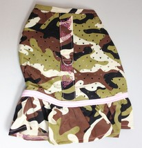 Pretty Smith Camo Dog Dress Harness Pet Dresses Camouflage - $10.00