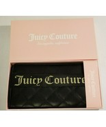 Juicy Couture Black Starburst Wallet Clutch Bag with Charms NEW - $29.99