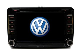 OE FITMENT TOUCH SCREEN DOUBLE DIN MP3 BLUETOOTH IPOD GPS VW TIGUAN 2007... - $296.99