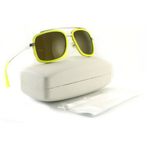 Versace VE2173 Women's Sunglasses 1394/73 Pale Gold Fluo Yelluw Frame 60 18 135 - $84.55