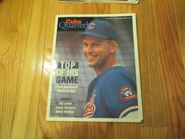 Chicago Cubs Quarterly July Aug 1995 Souvenir Magazine MLB Baseball - $7.99