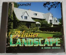 MASTER LANDSCAPE & HOME DESIGN PUNCH SOFTWARE - $55.00