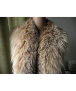 Genuine Fox Fur Collar. Extra Long & Wide. Gorgeous - $295.00