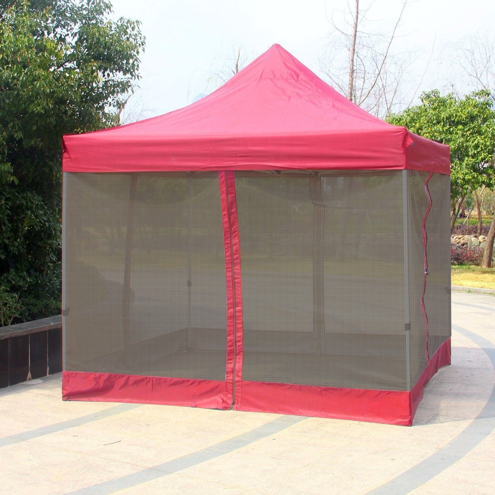 10' x 10' Gazebo Replacement Garden Outdoor Gazebo Canopy Mosquito Netting ONLY