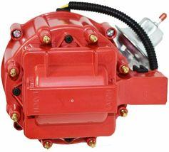 Buick HEI Distributor Red Cap BB 400 430 455 & 8mm Spark Plug Kit image 3