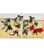 Mega Bloks Plasma Dragons -lot Of 13 figures -VF/EX - $79.19