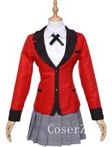 Anime Kakegurui Jabami Yumeko Cosplay Costume Halloween Costume  - $87.00
