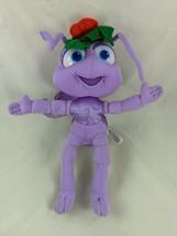 """Mattel Bugs Life Purple Dot Ant Plush 11"""" Christmas 1998 Stuffed Animal - $9.13"""