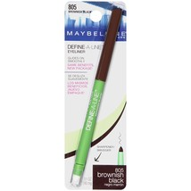 Maybelline New York Define-a-line Eye Liner, Brownish Black 805 - $15.80