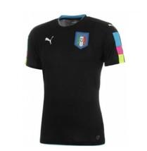Puma Italia Goal Keeper Jersey 2016/17 BLK/BLU - $74.25