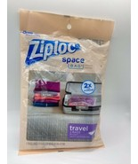 Ziploc Space Bag Travel Bags - Poly Pack 2 Pack BRAND NEW & SEALED - $14.75