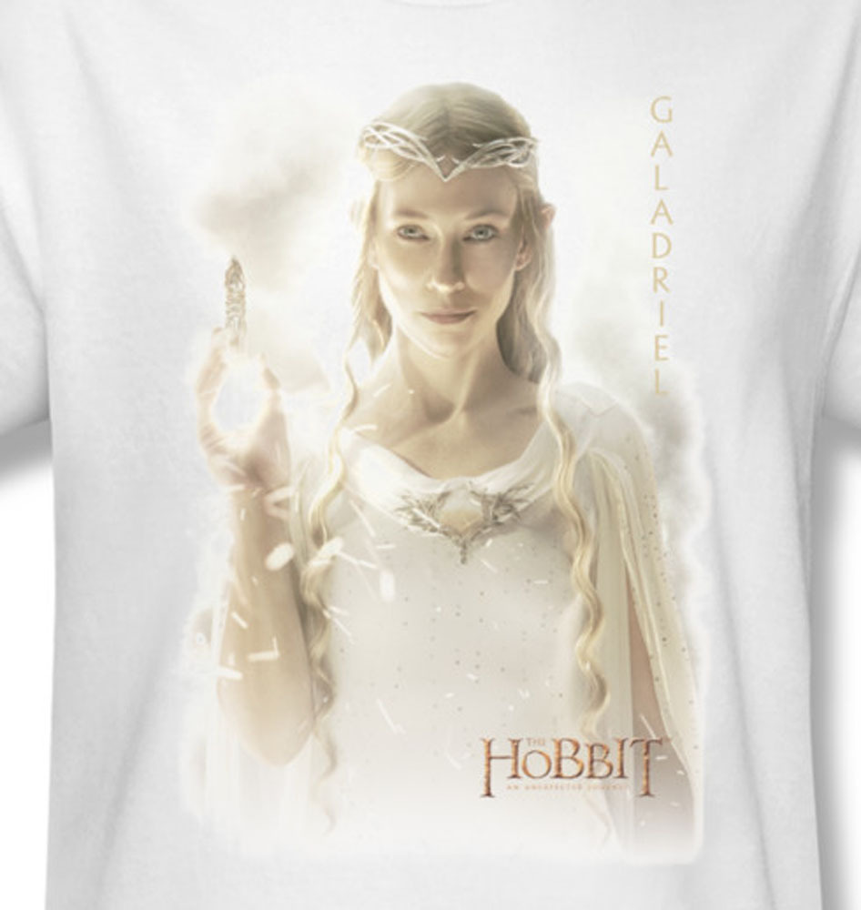 Galadriel the hoobit an unexpected journey bilbo for sale online white graphic tee hob1109 at