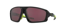 Oakley Field jacket Sonnenbrille OO9402-1064 Poliert Schwarz Prisma Straße - $208.47
