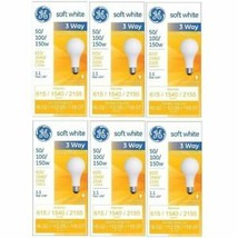 GE Lighting Incandescent Bulbs Soft White 3way 97494 50/100/150Watt 2155Lumen - $35.42