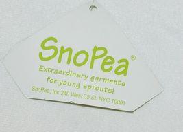 Snopea 3 Piece Outfit Vest Shirt Pants Black White Velour Size 18 Months image 10