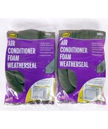 """M-D Air Conditioner Foam Weatherseal Small 1.25"""" X 1.25"""" X 42"""" Lot Of 2 - $16.01"""