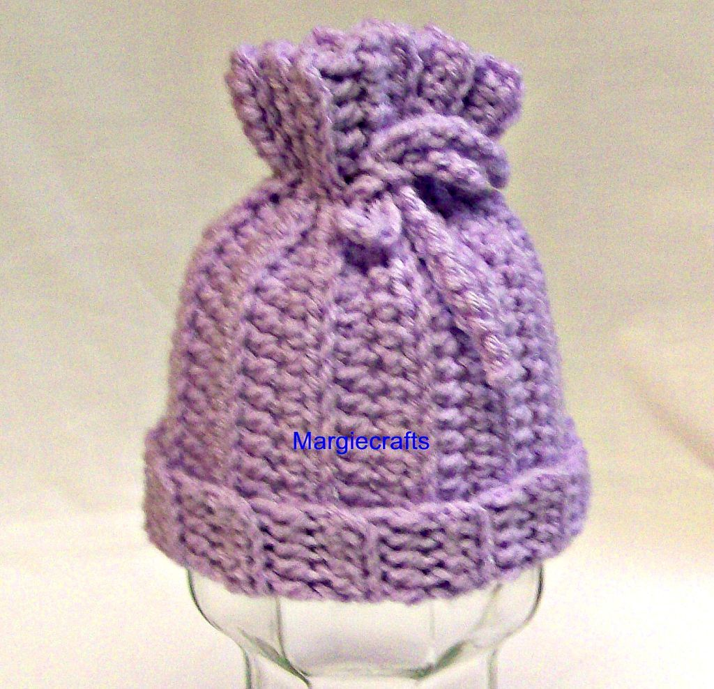 Primary image for Handmade Crochet Baby Hat, Newborn, Girl, Boy, Infant, Shower Gift, Accessories