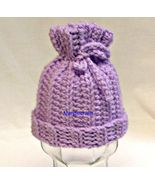 Handmade Crochet Baby Hat, Newborn, Girl, Boy, Infant, Shower Gift, Acce... - $12.00