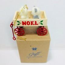Avon Teddies In Wagon Christmas Ornament - $9.49