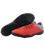 Nike Hypervenom 3 Size 11 Mens DF TF Turf Indoor Soccer Futbol Shoes Red... - $112.95