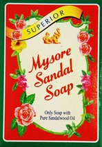 75GM, Mysore Sandal Soap With 100% Pure Sandalwood Oil For Skin Care (Pa... - $21.01