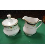 "Beautiful LYNNS Fine China ""Bennington""  ..SUGAR & CREAMER - $14.44"