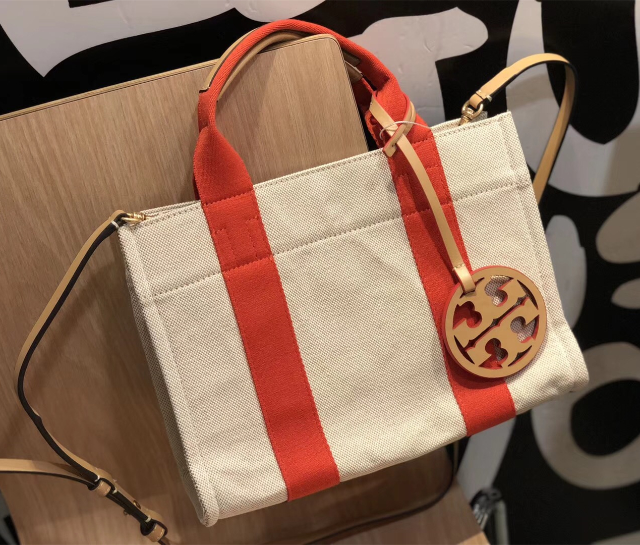 def2c77747b Tory Burch Miller Canvas Mini Tote and 50 similar items